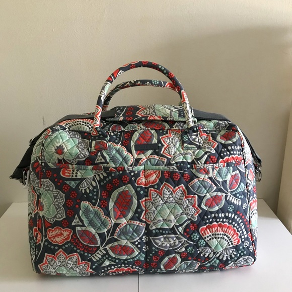 7585c72d36 Vera Bradley Nomadic Floral Weekender Travel Bag